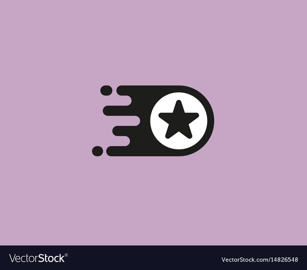 Star logotype leader logo design