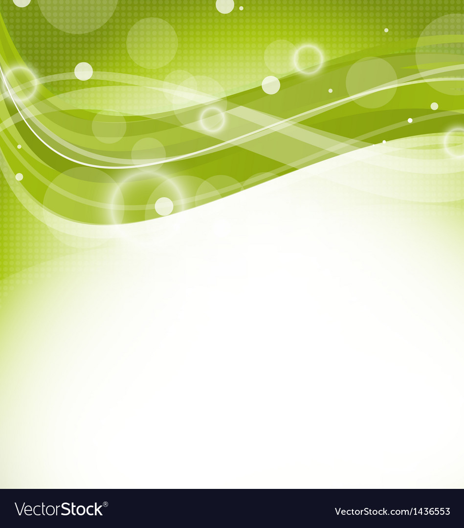 Green Nature Background Design Template Royalty Free Vector