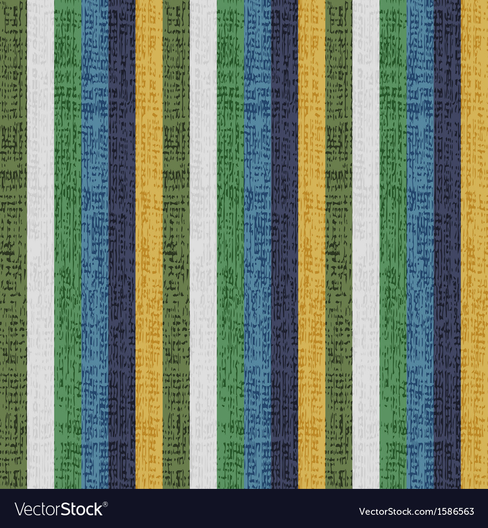 Vertical retro stripe background vector image
