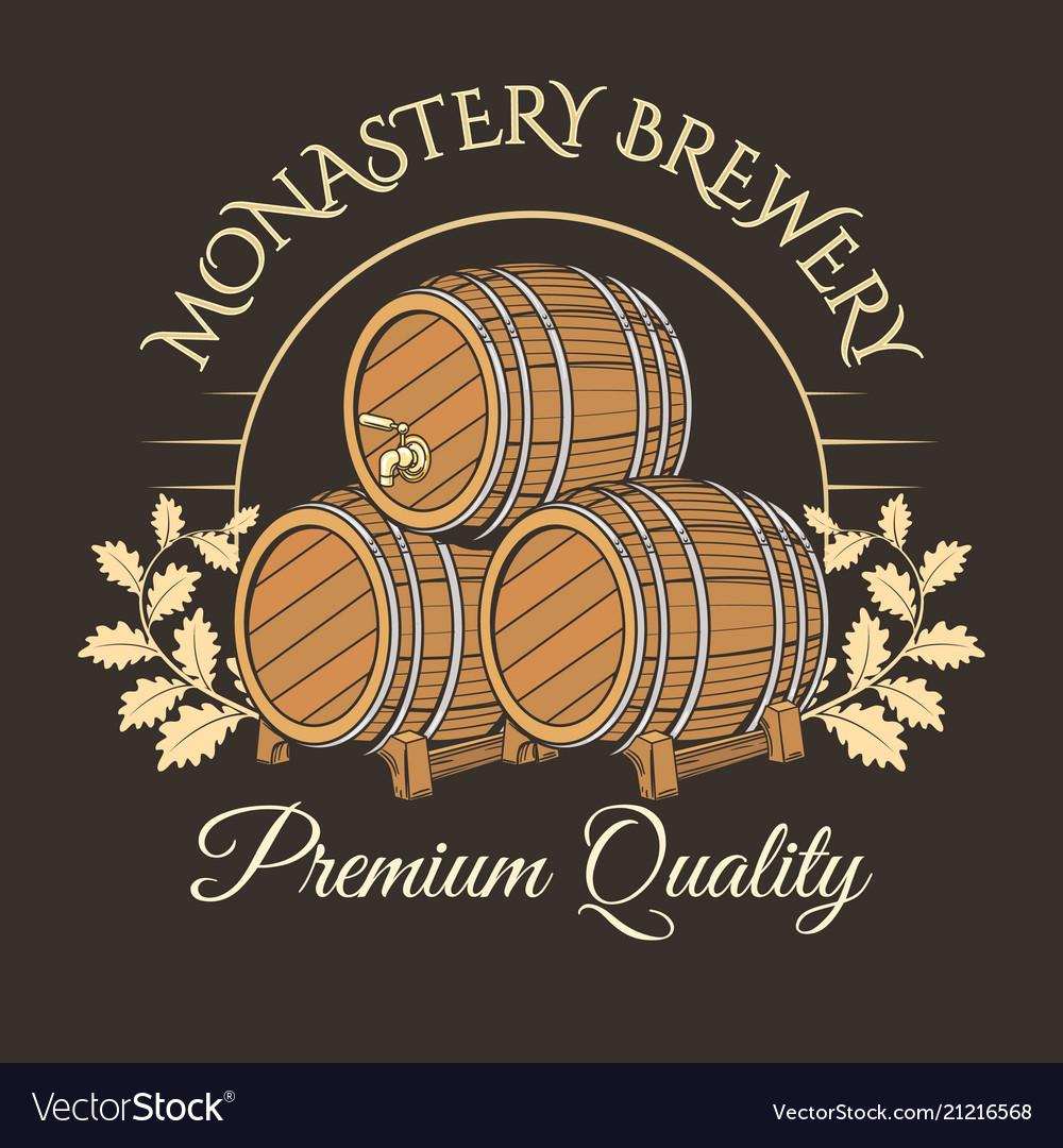 Old barrels logo