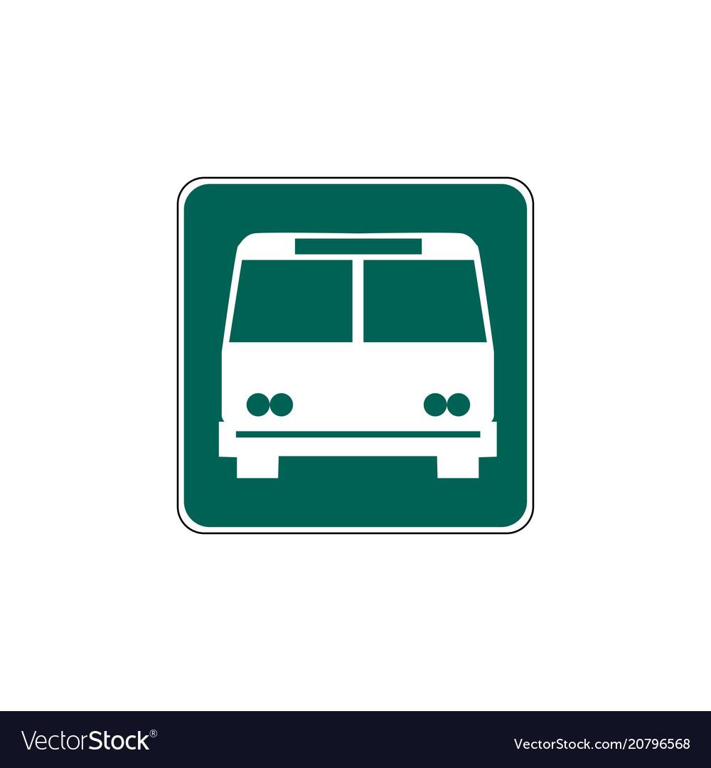 Usa traffic road signsgeneral information sign