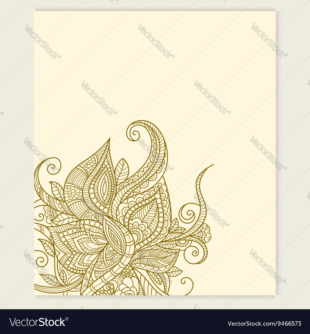 Yoga Gift Certificate Template Royalty Free Vector Image