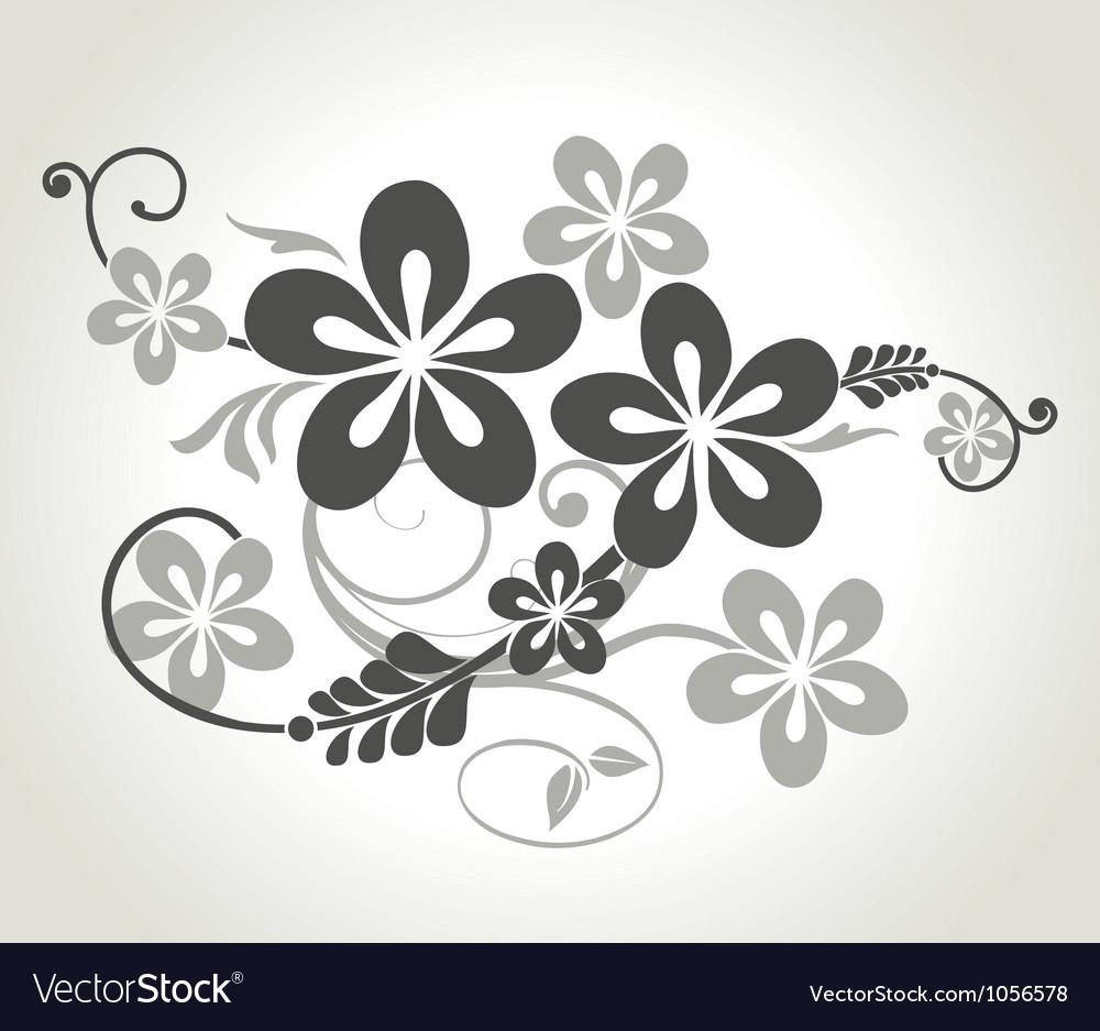 Floral curls