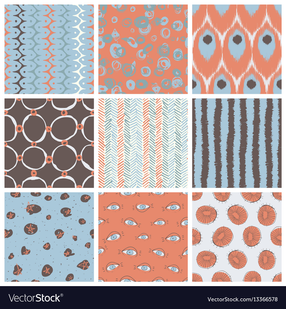 Trendy pattern set