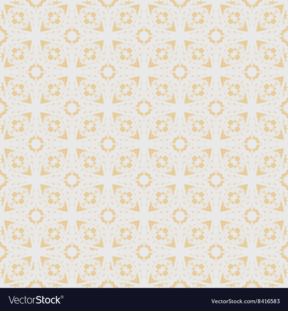 Flower sakura seamless pattern on peach color