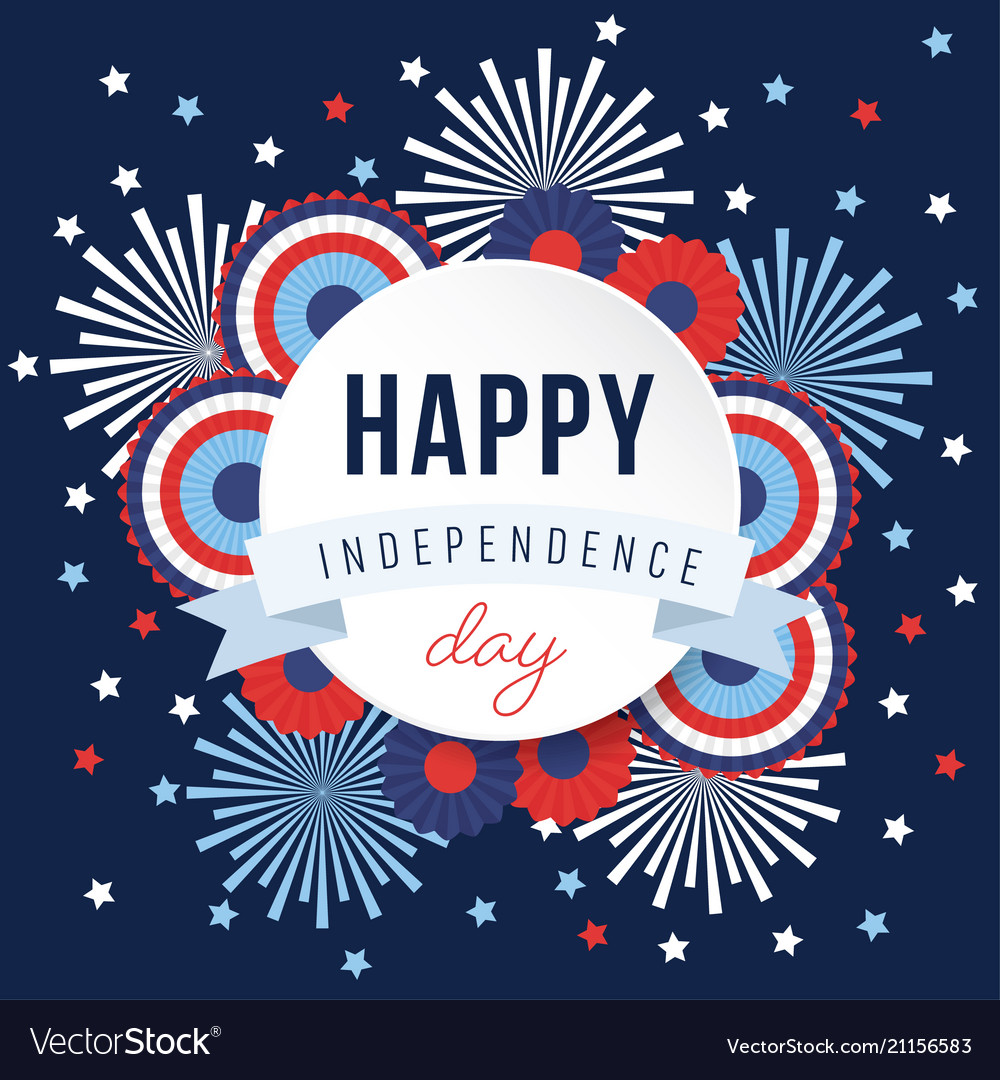 Happy independence day 4th july national holiday