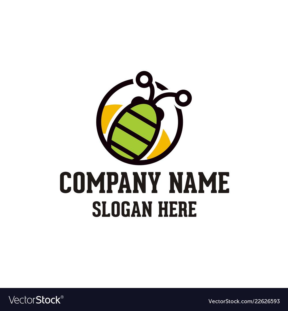 Bug logo design