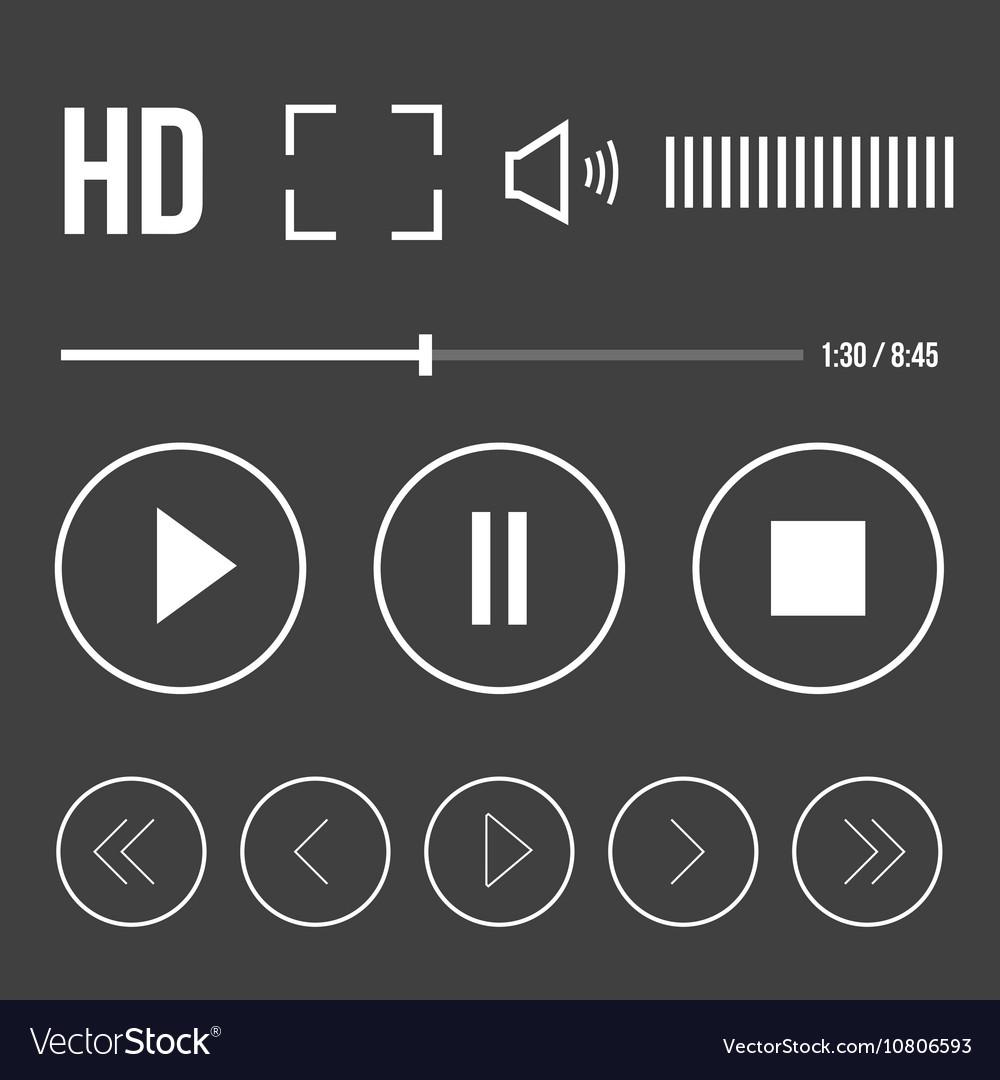Player icon set