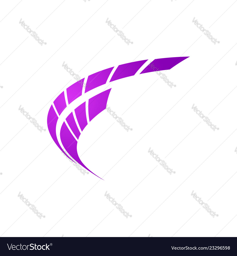 Abstract line shape square logo abstract logo