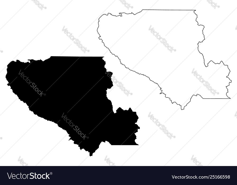 Santa clara county california map