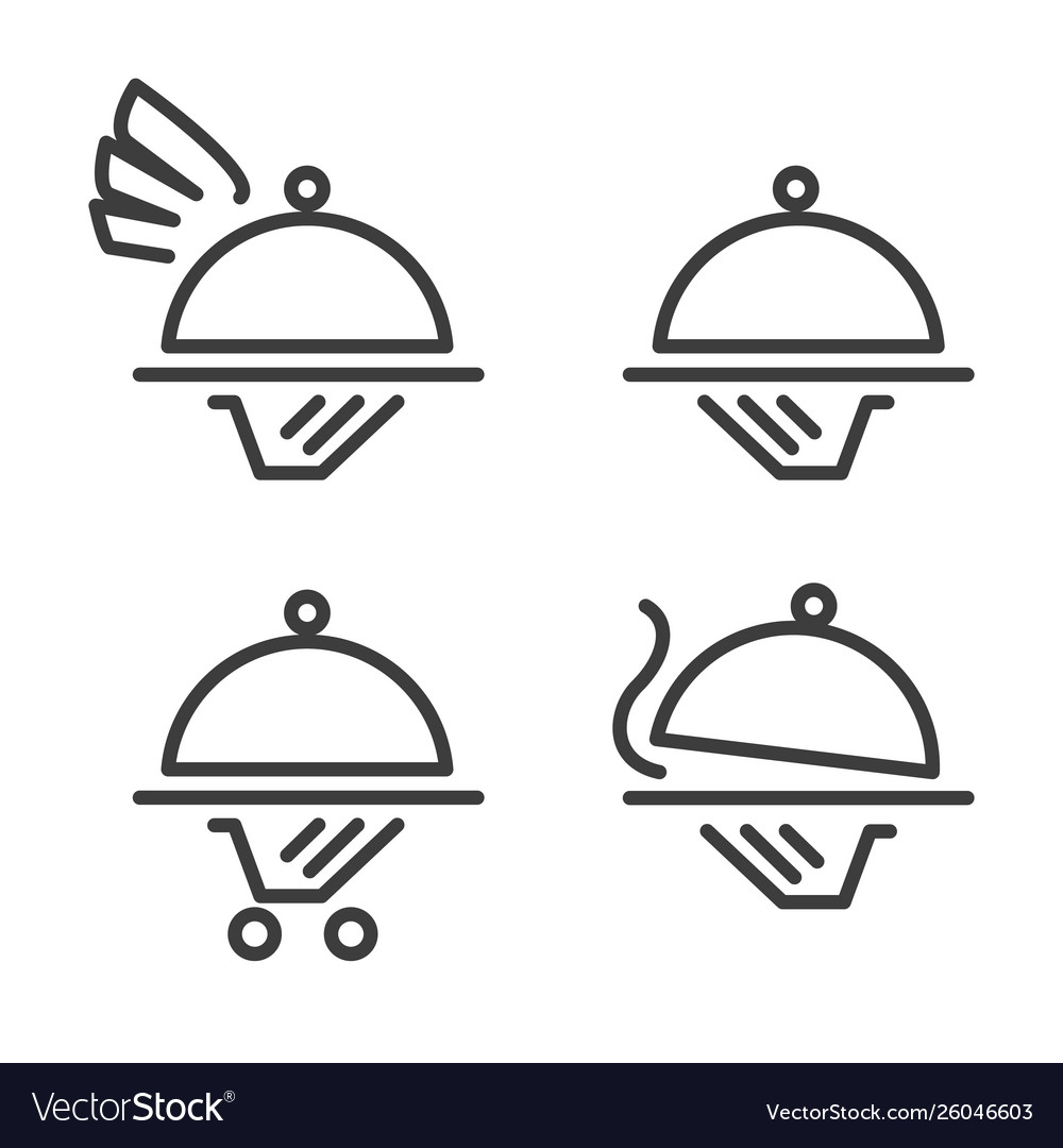 Catering logo icons