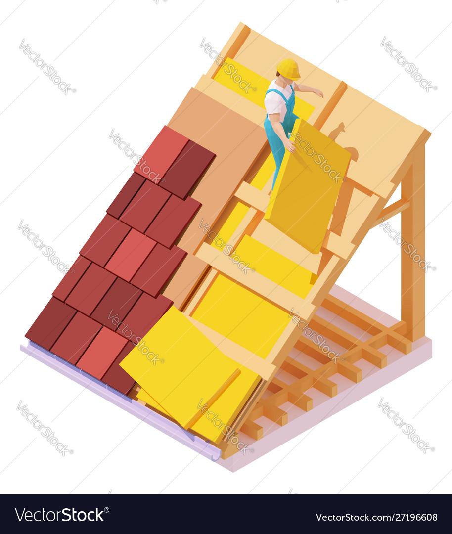 Isometric house roconstruction