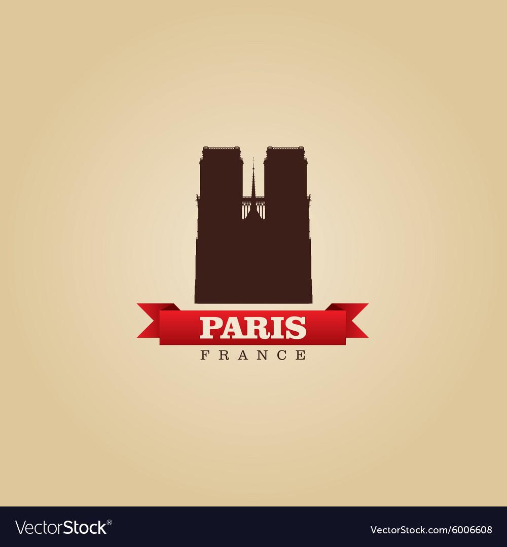 Paris france city symbol