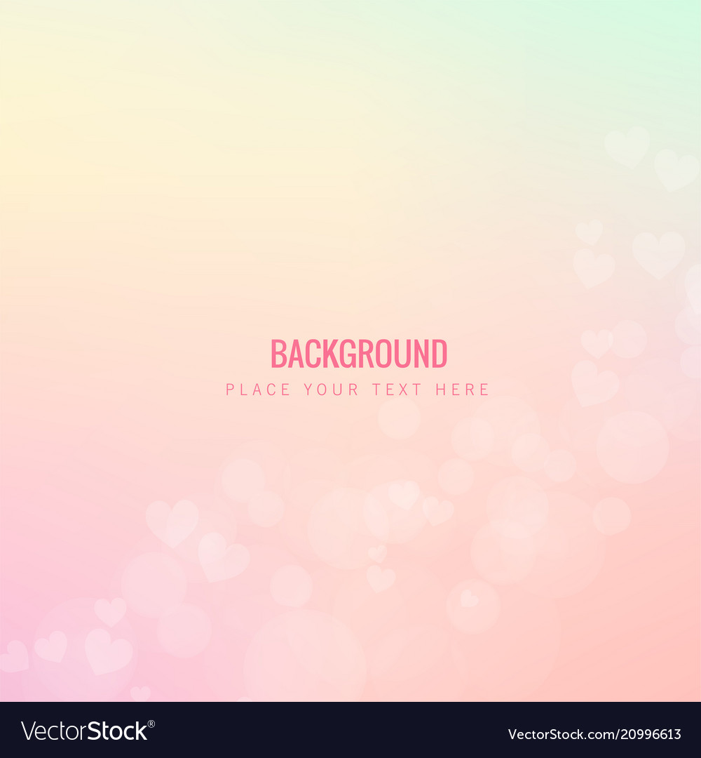 Beautiful pink hearts pink background image
