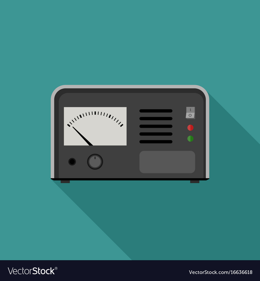 Electric tester icon vector image