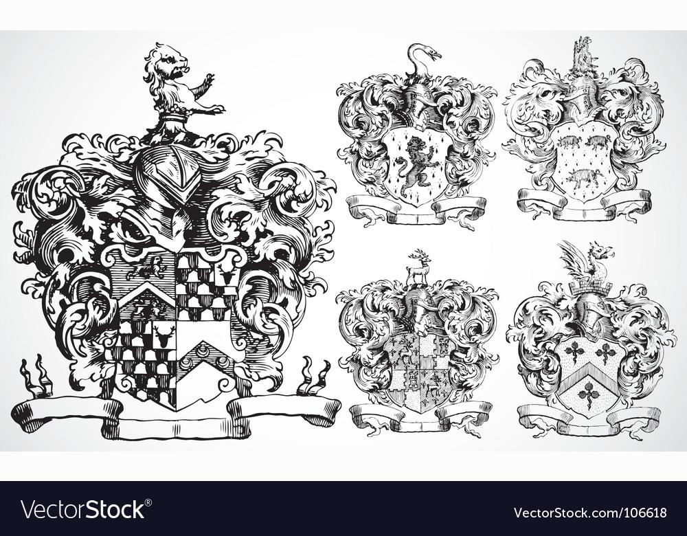 Medieval crests