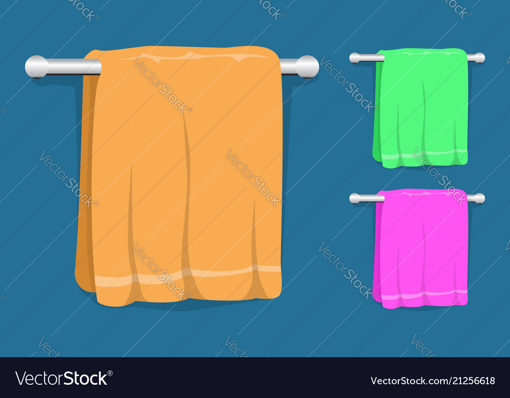 Set of kitchen towels