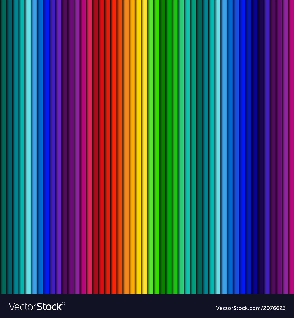Abstrack color background straight line vector image