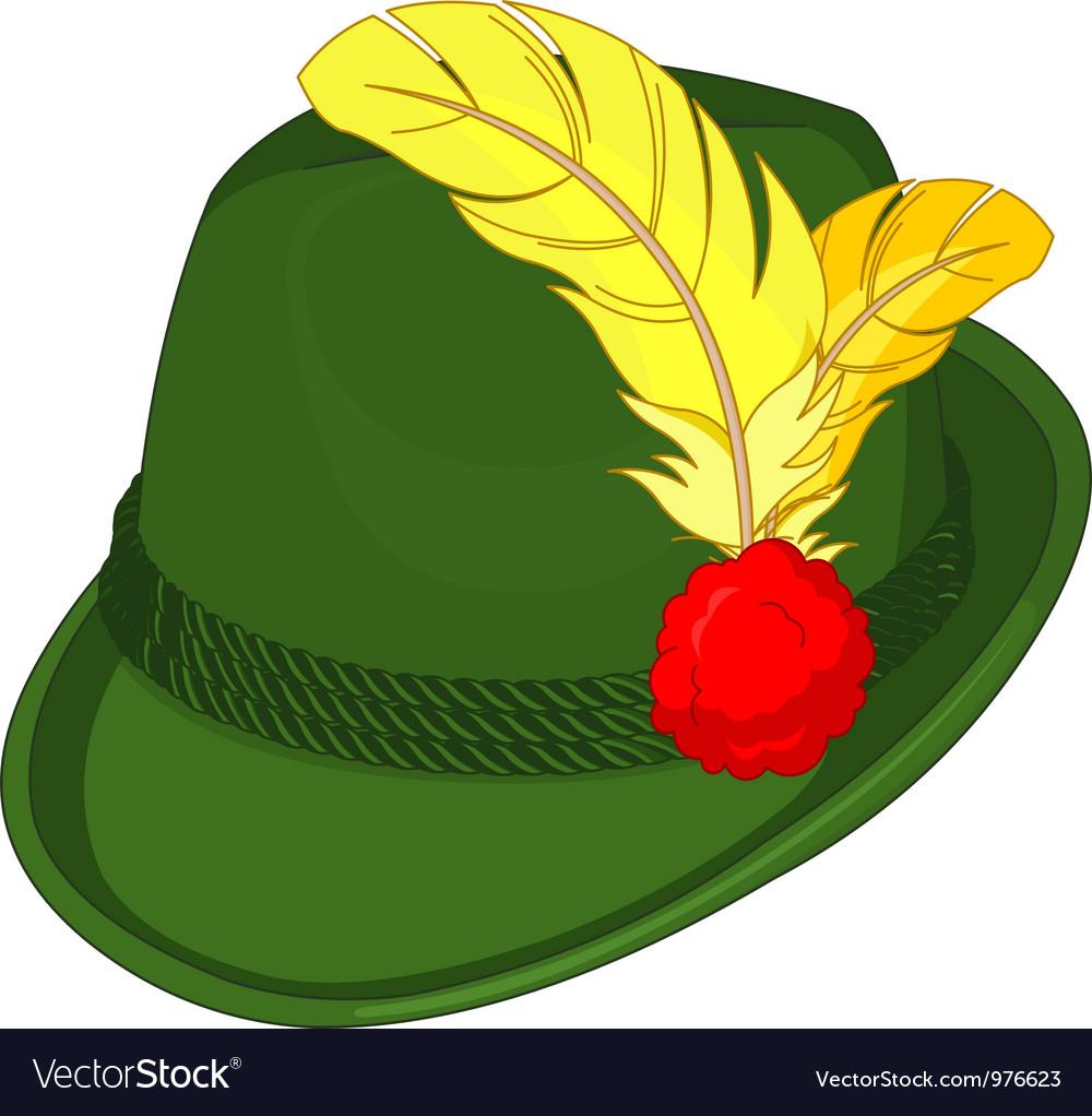 Bavaria Hat vector image