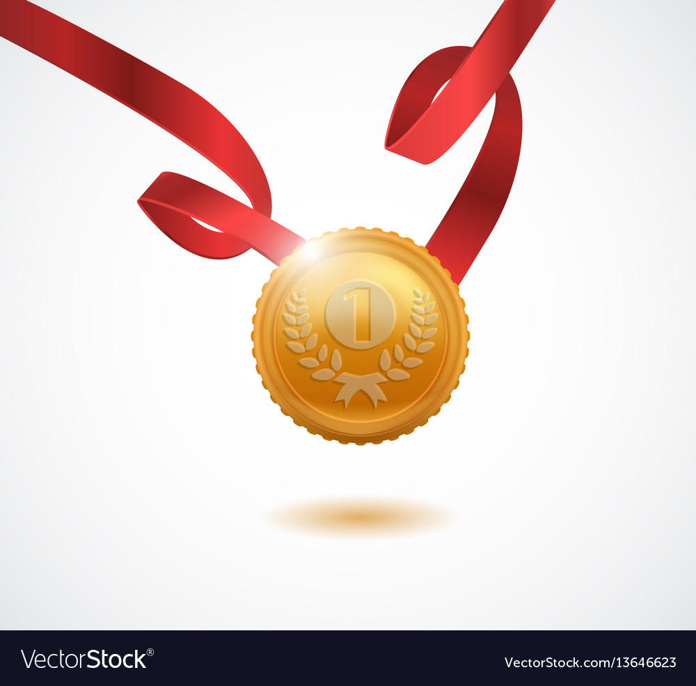 Gold medal for first place