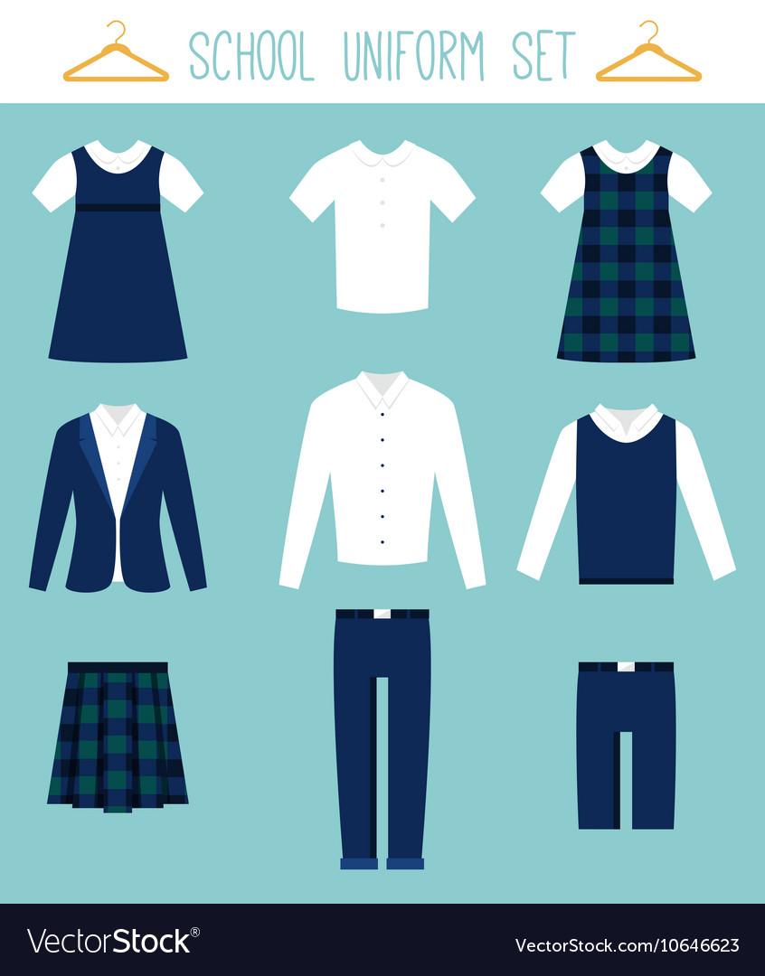 School Uniforms for Children Kids Clothes