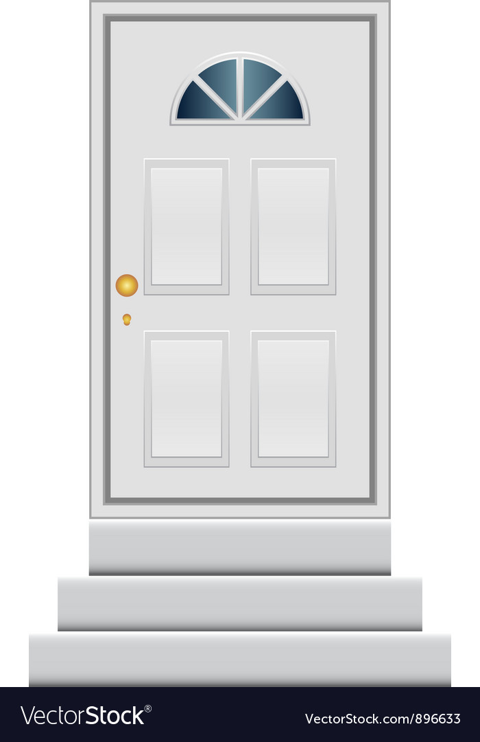 Door vector image