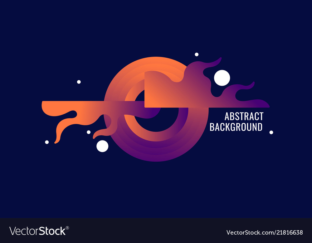 Abstract composition and background for the poster