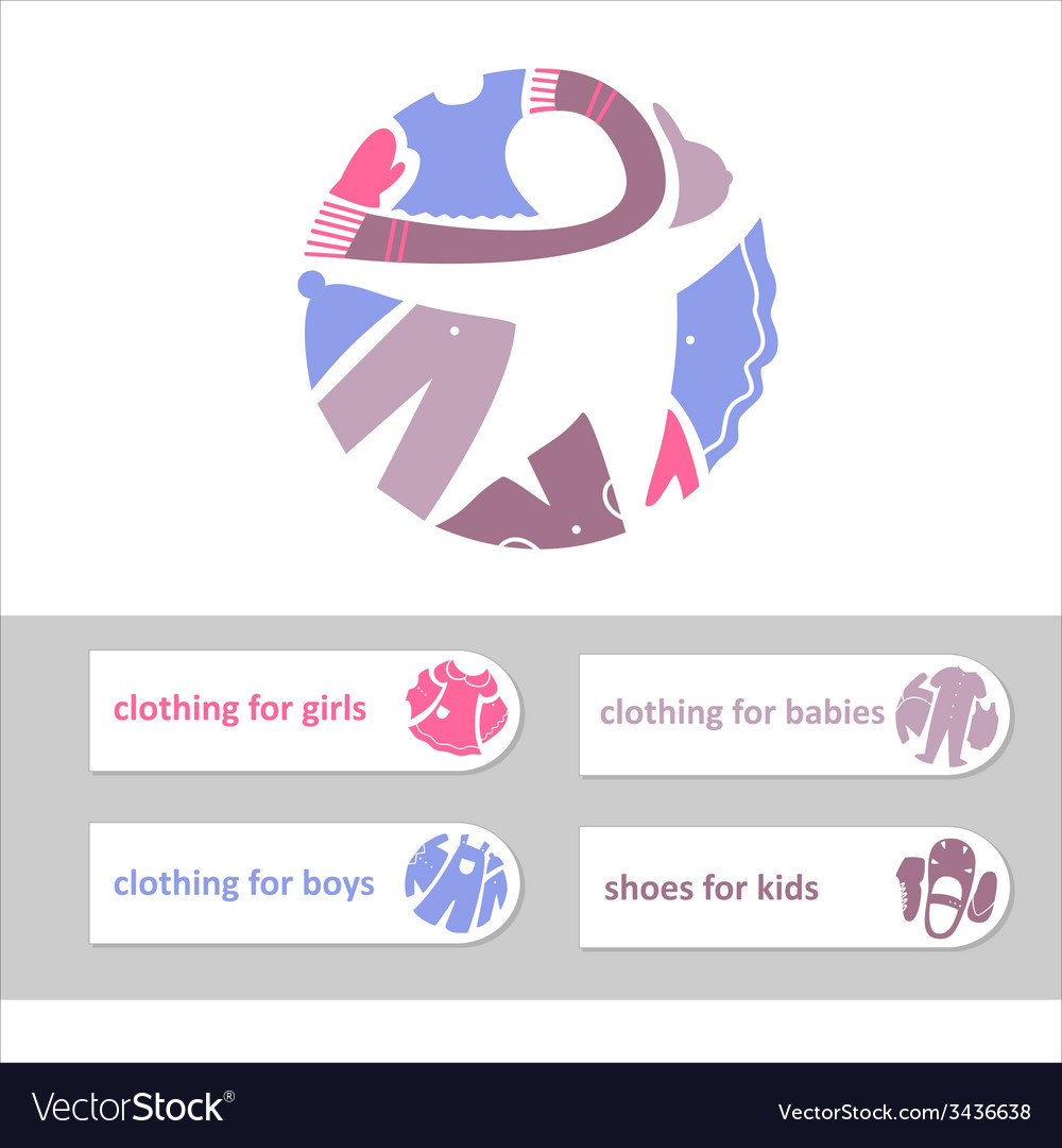 Shop childrens clothing and shoes Visual