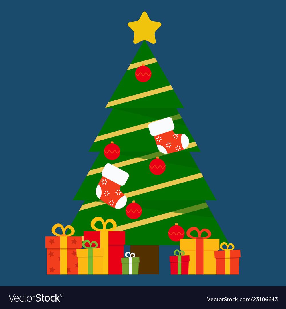Christmas tree and presents image