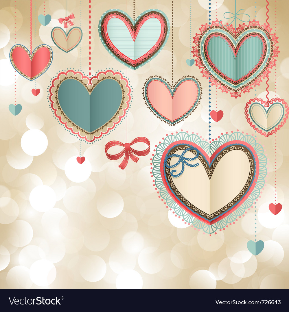 Valentines day vintage card