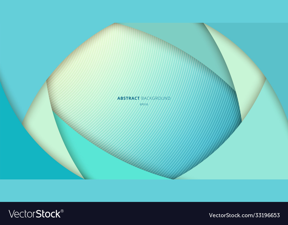 Abstract blue curve layer overlapping background