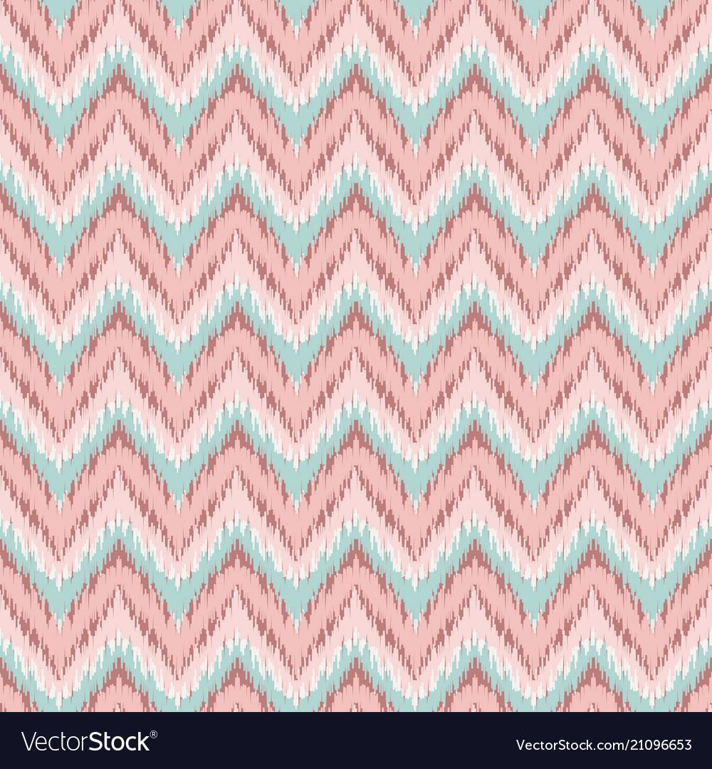 Boho zig zag strip pink seamless pattern