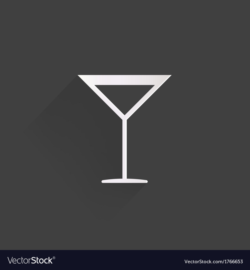 Drink glass web icon