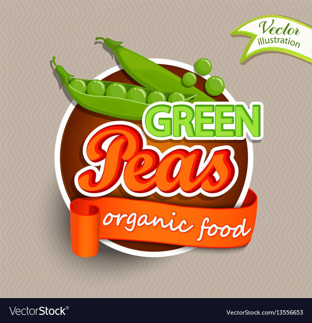 Green peas logo
