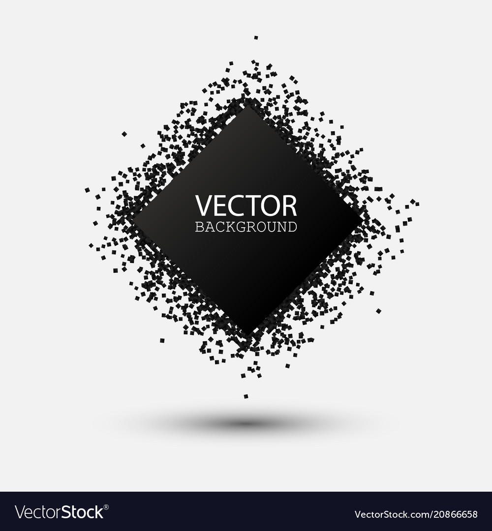 Abstract black explosion geometric background