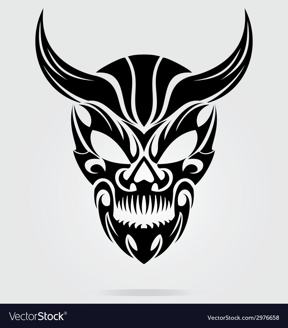 Demon Head Tribal