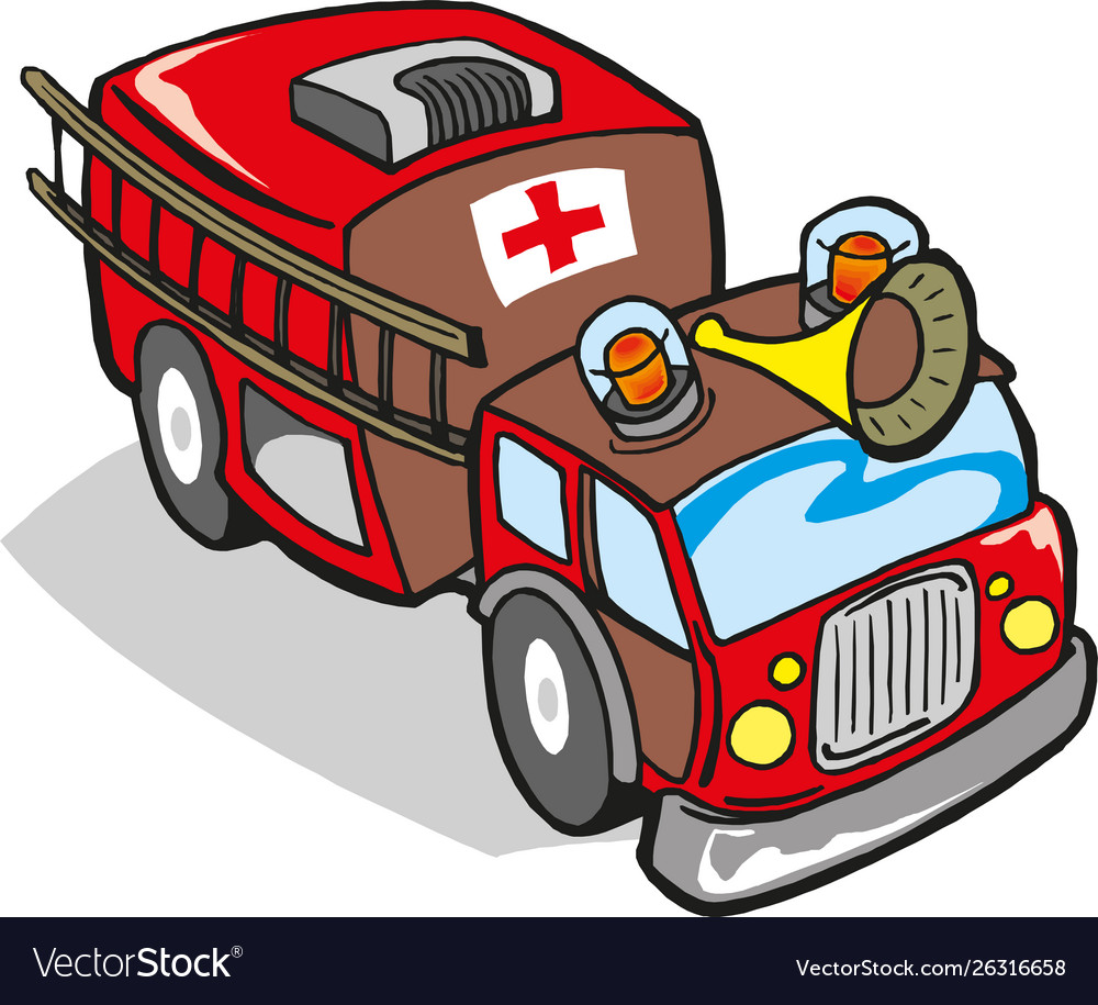 Fire engine firefighter truck
