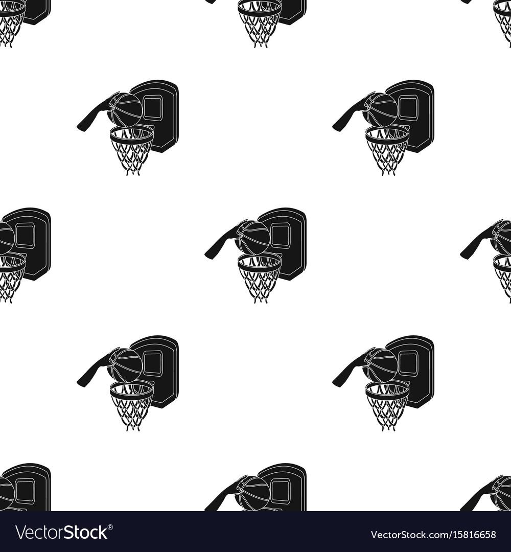 Hand with a ball near the basketbasketball single