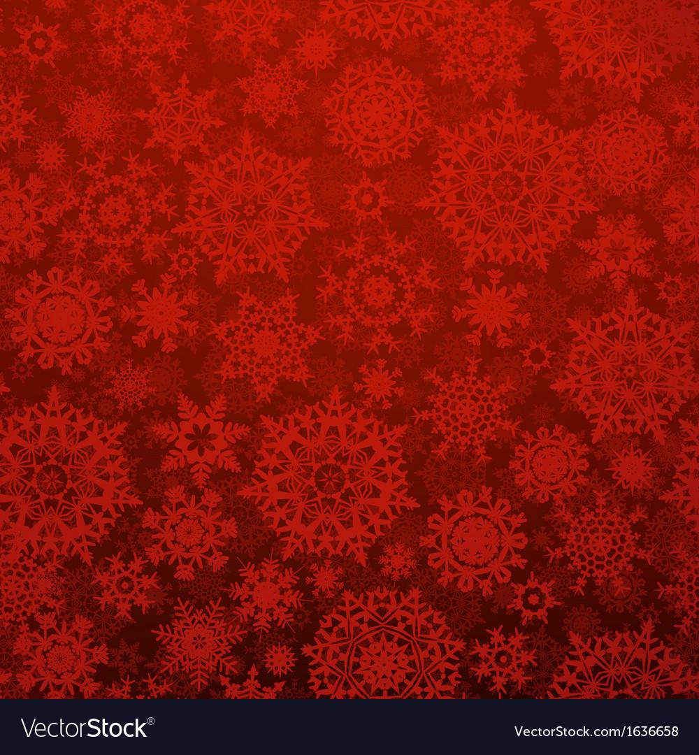 Seamless deep red christmas pattern eps 10