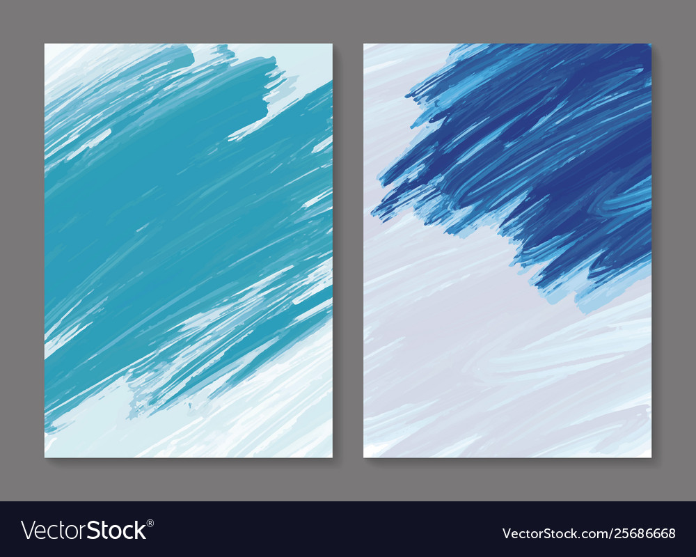 Abstract paint brush stroke background