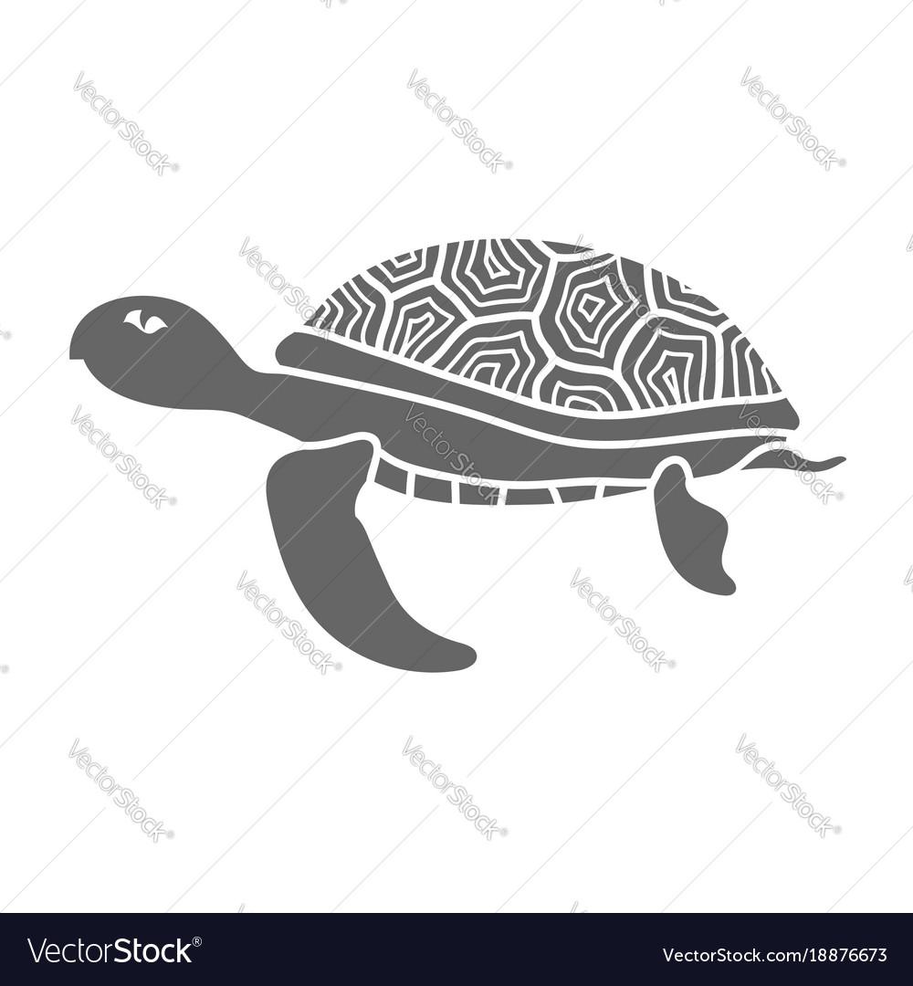 Ocean turtle icon