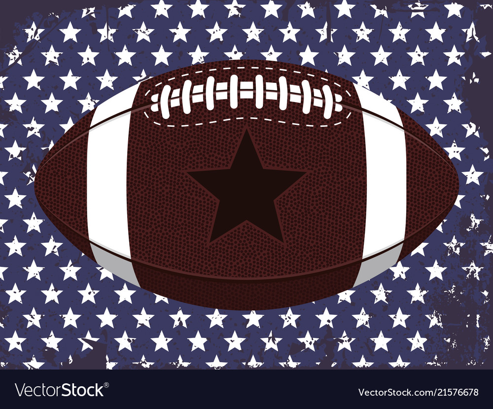 Modern professional ball for american