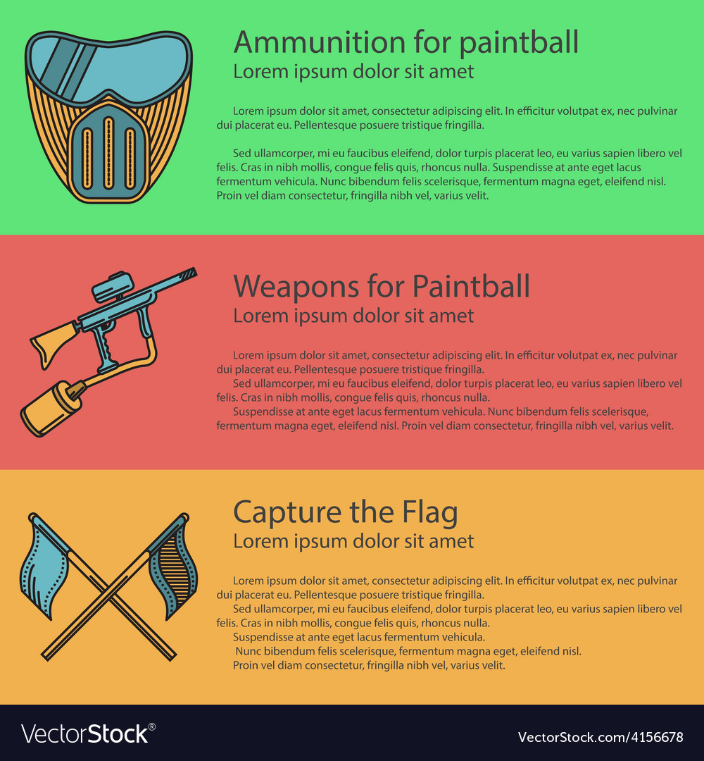 Paintball colored