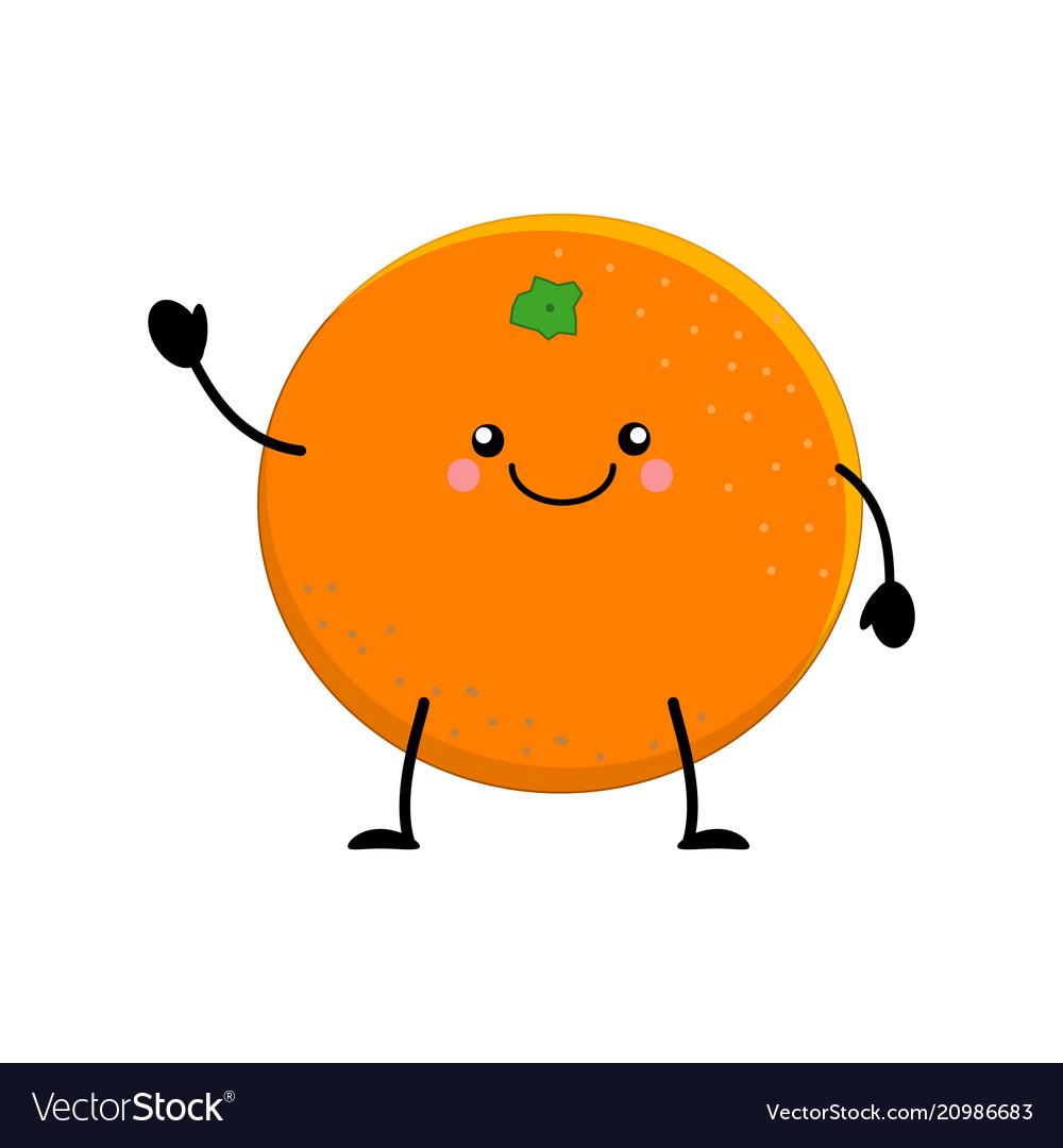 Cute cartoon orange kawai oran...