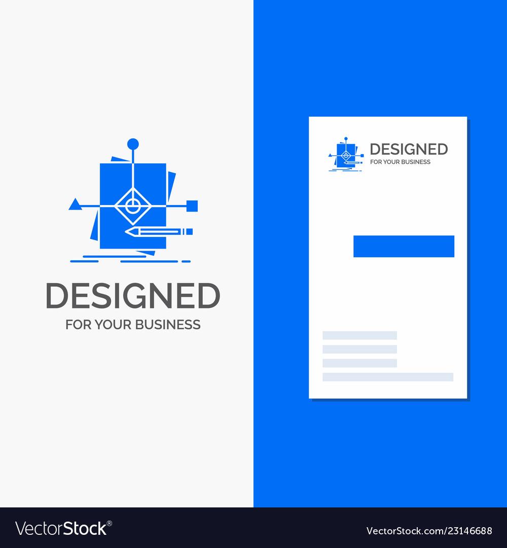 Business logo for algorithm business foretelling