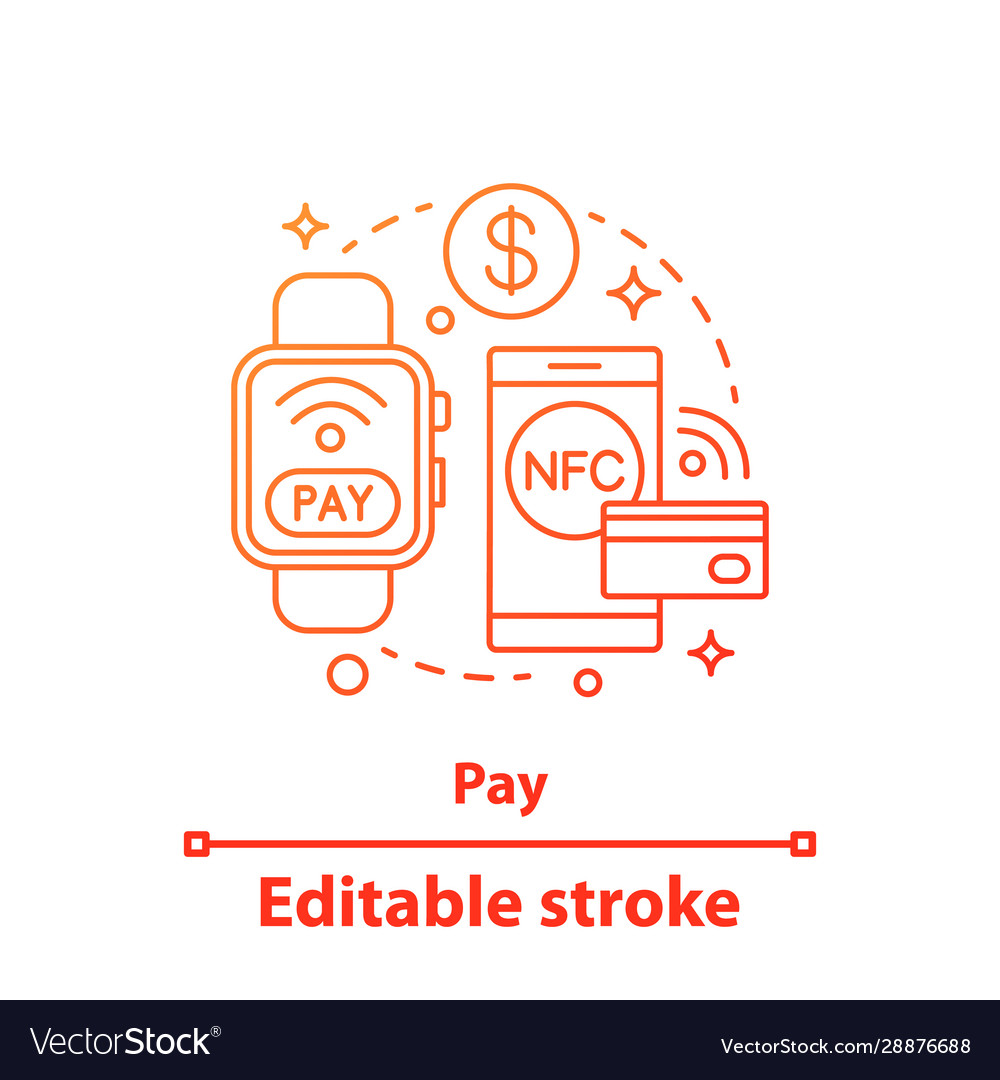 E-payment concept icon