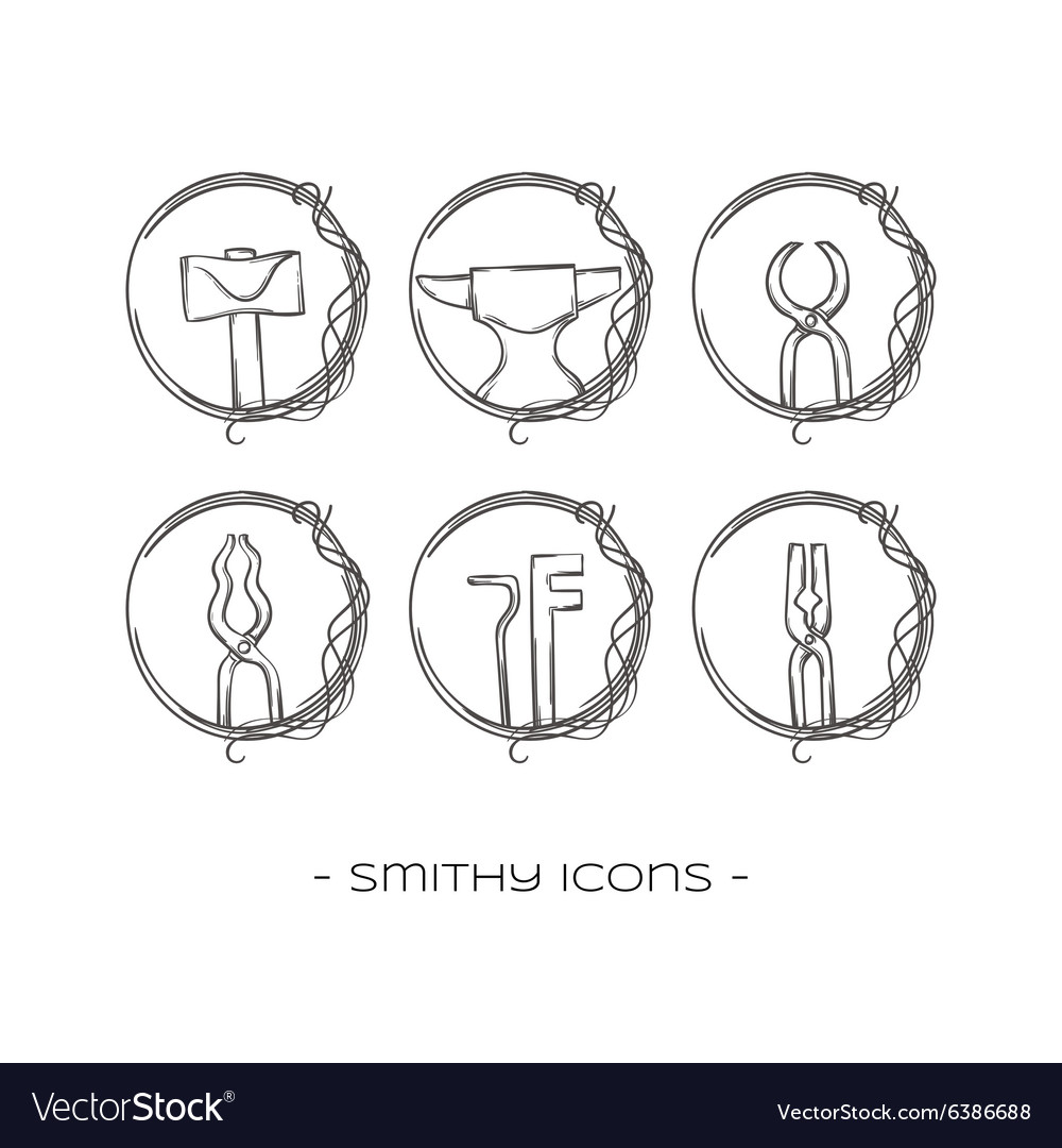 Smithy Icons One vector image