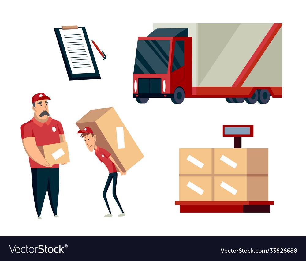Warehouse logistics collection