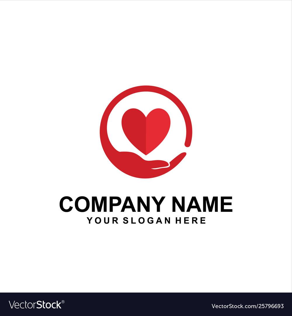 Care heart logo