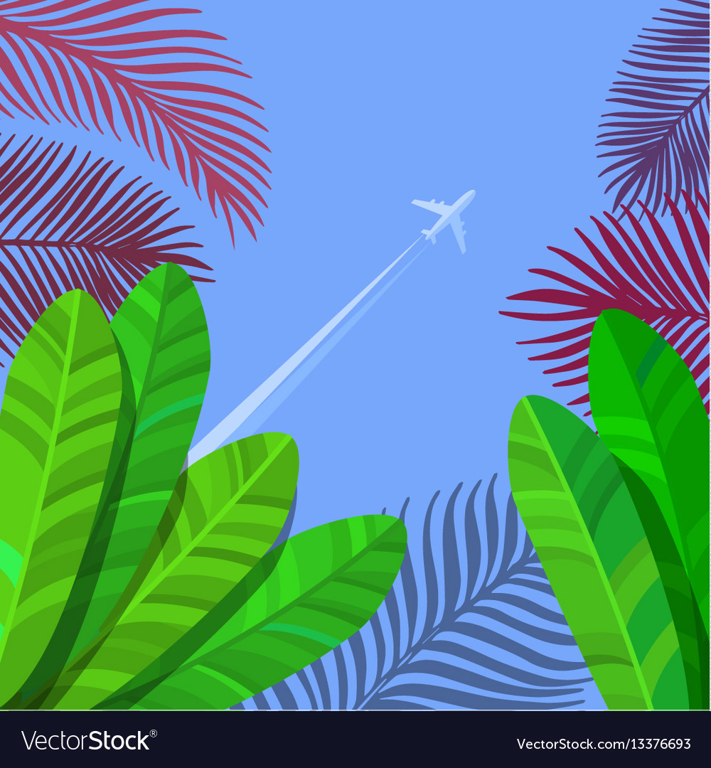 Concept of vacation vector image